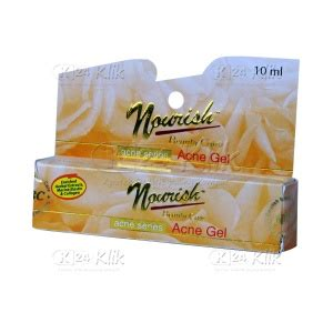 Nourish Acne Gel By Fadilshop123 jual beli nourish care acne gel 10ml k24klik