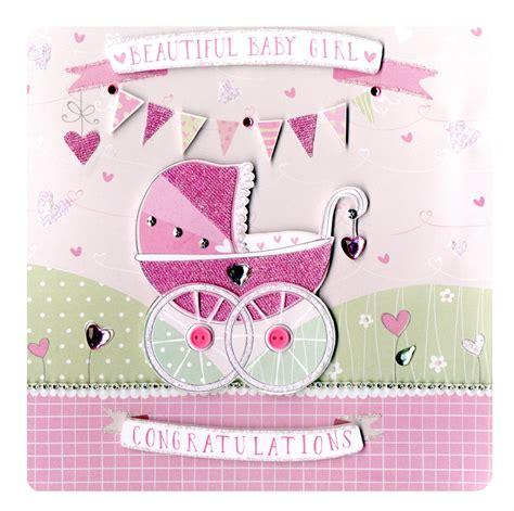 Luxury Handmade Greeting Cards - beautiful new baby keepsake card luxury handmade