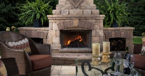 Belgard Hardscapes Sweepstakes - modular fireplaces from our belgard elements collection install quickly so you can