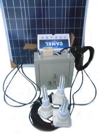 Lu Led Cing 3w Dengan Solar Panel paket plts untuk rumah 500 watt