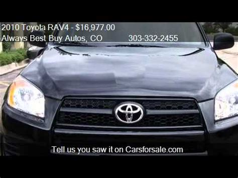 Toyota Rav4 Third Row Seat For Sale 2010 Toyota Rav4 4wd 4 Cyl 3rd Row Seating At For Sale