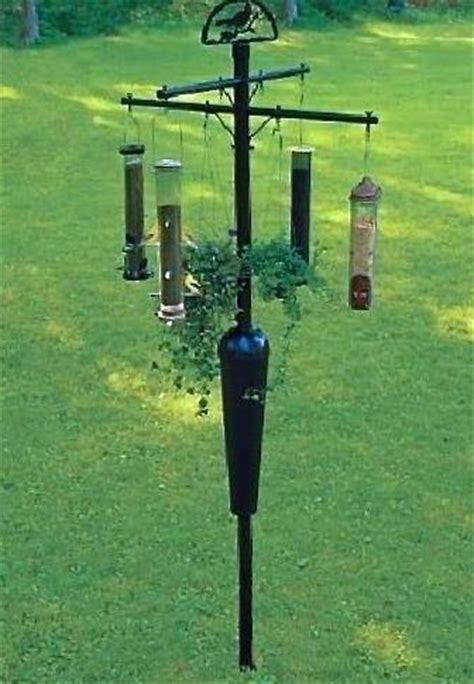 squirrel stopper 8 arm bird feeder pole the birdhouse chick