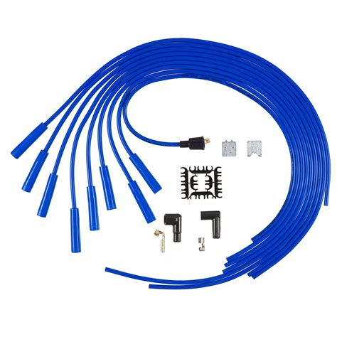 accel 5040b spark wire set 8mm universal blue
