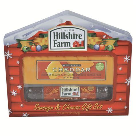 hillshire farms gifts hillshire farm sausage cheddar cheese gift set shop