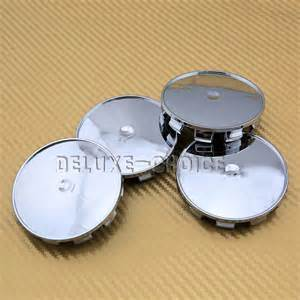 Universal chrome car alloy wheel rim centre hub cap 69mm use ur own