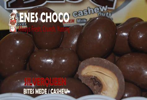 Silverqueen Bites Cashew 1kg Coklat Kacang Mede Mete Almond Kiloan jual coklat kiloan silverqueen bites cashew mede 1 kg
