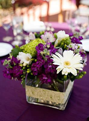 wedding table decorations purple and green purple and green wedding centerpieces delarosaevents