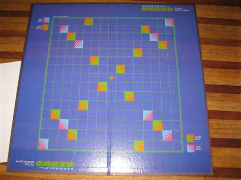 scrabble board pieces 1986 scrabble rebus board board