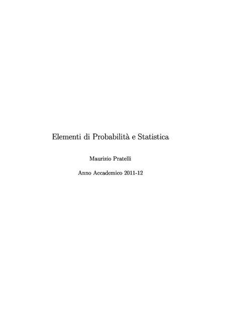 dispense di statistica tavole statistiche dispense