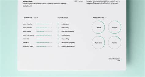 simple resume template vol 4 simple resume template vol5 resumes templates pixeden