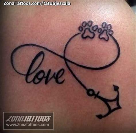 tatuaje de infinitos huellas love tatuajes tatoo and