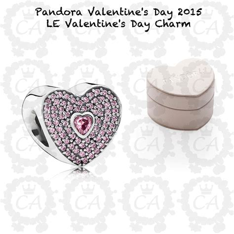 valentines pandora charms pandora le s day charm 2015 charms addict