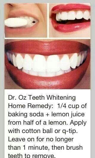 teeth whitening home remedy health