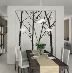 wall decals as contemporary wall ideas for dining room