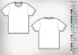 T Shirt Design Templates Free by S Basic T Shirt Template Free T Shirt Template