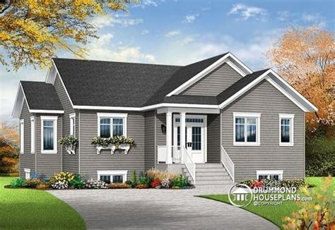 affordable bungalow house plans w3133 v4 affordable 4 bedroom bungalow large master suite home office large
