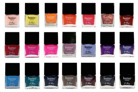 Butter London Nail Polish Colors | julie s creative lifestyle butter london nail lacquer