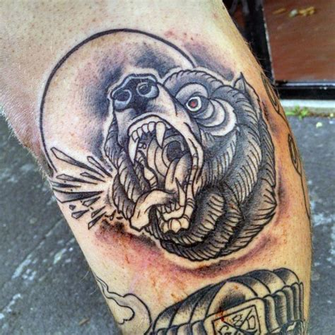 simple bear tattoo 73 traditional ideas designs collections