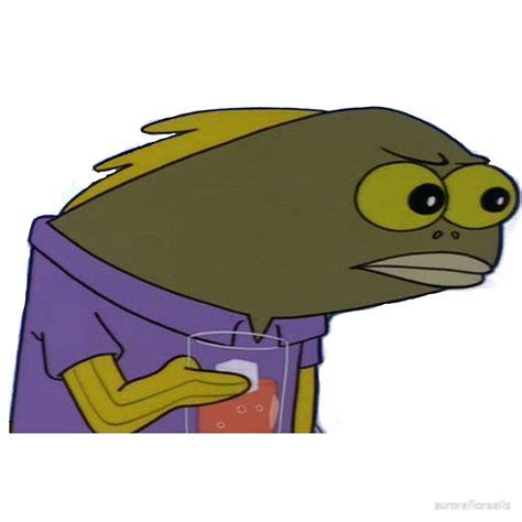 Spongebob Fish Meme - quot spongebob fish meme quot by auroraflorealis redbubble