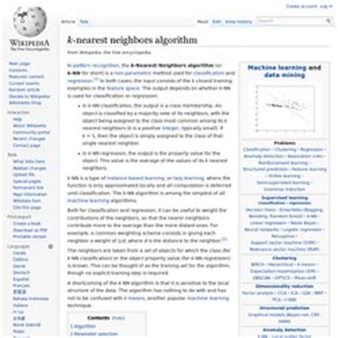 pattern recognition k nearest neighbor search recommendation pearltrees