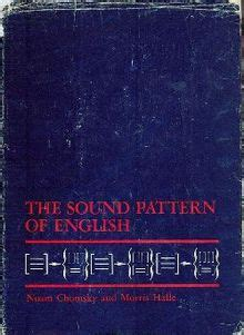 sound pattern of english noam chomsky the sound pattern of english
