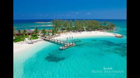 bahamas sandals royal bahamian nassau gms vacations youtube