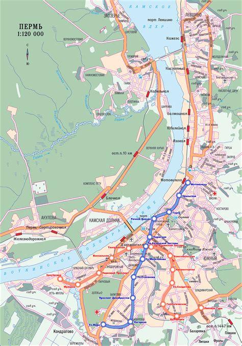 metro map  perm metro maps  russia planetologcom