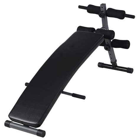 slant sit up bench adjustable decline bench gym incline sit up slant board ab