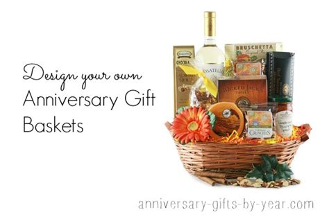 anniversary gift basket alternative anniversary gift baskets