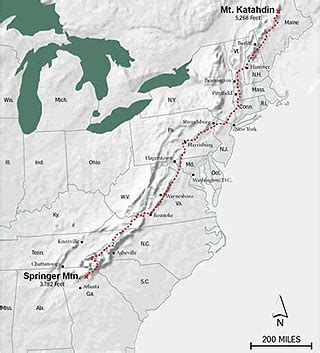 the appalachian trail map lyme disease on the appalachian trail the badger