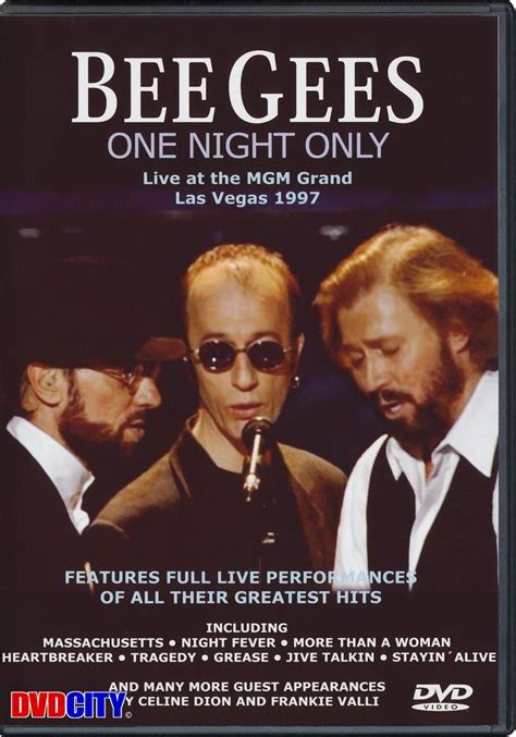 bee gees one 1997 bee gees the one only 1997 dvdcity dk
