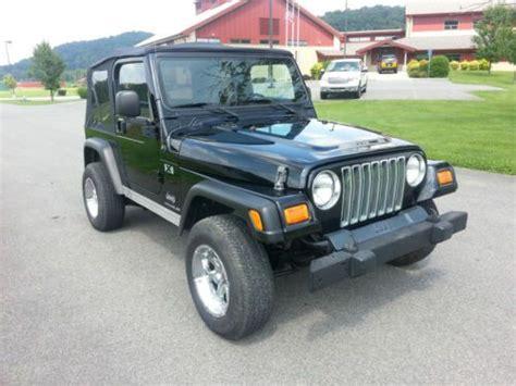 Used 2006 Jeep Wrangler Buy Used 2006 Jeep Wrangler X Sport Utility 2 Door 4 0l In