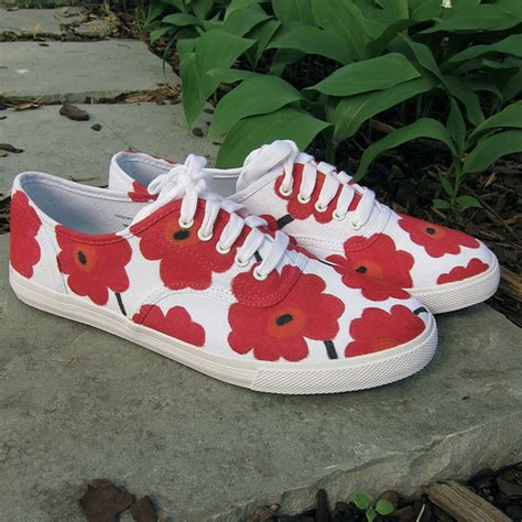 diy floral shoes 16 refreshing projects i m obsessed with