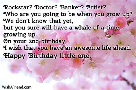 2nd Birthday Quotes Happy 2nd Birthday Baby Boy Quotes