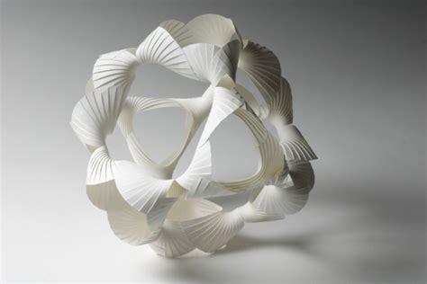 paper sculptures   parallel richard sweeney art