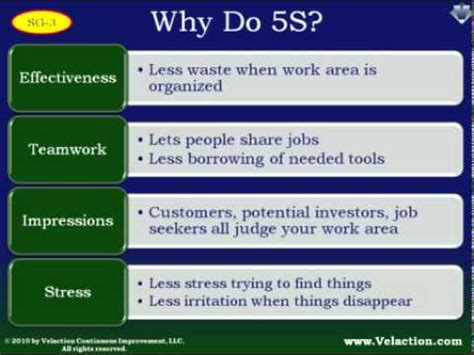 5s And Visual Management Lean Training Youtube 5s Presentations
