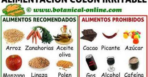 alimentos prohibidos para el c dieta para colon o intestino irritable alimentos