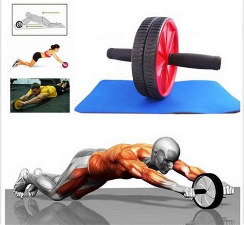 Alat Fitness Wheel Roller stomach fitness roller exercise end 3 21 2018 5 00 pm