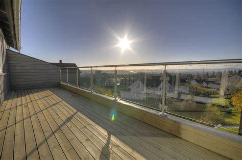 sichtschutz terrasse glas 304 rustfritt rekkverk rekkverkbutikken no