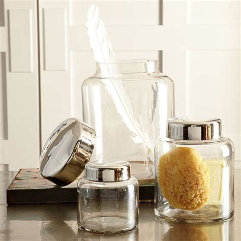 west elm bathroom accessories apothecary jars contemporary bathroom accessories by