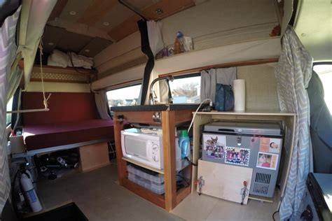 Motorhome Plans by Gypsy My Super Awesome Camper Van Conversion Defying Normal
