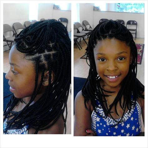 old box braids kids box braids 6 packs hairstyles galore pinterest