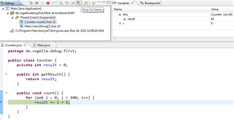 html tutorial java point java debugging with eclipse tutorial