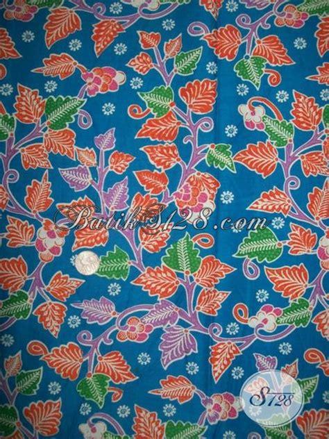 Batik Katun Motif Daun Pejabat motif daun untuk kain batik printing trend seragam batik
