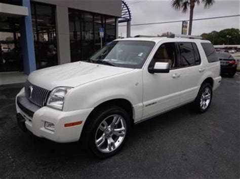 how it works cars 2010 mercury mountaineer seat position control sell used sport utility 2010 mercury mountaineer awd 4dr premier 3rd row seat in jacksonville