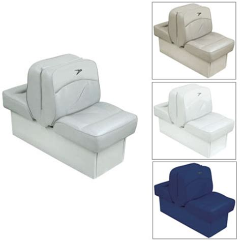 wise marine lounge seats wise seating deluxe lounge seat white west marine