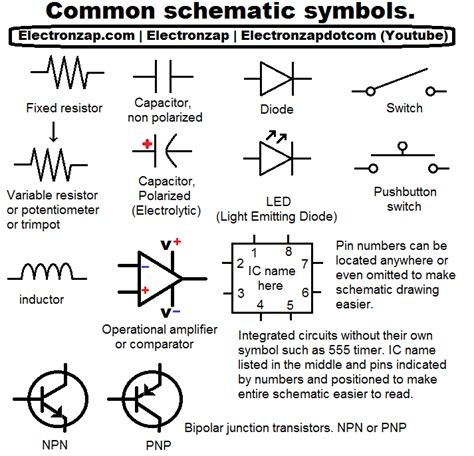 circuit board schematic diagram symbols wiring diagram