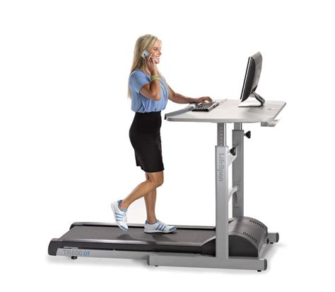 Desk Fitness treadmill walking desk by lifespan fitness