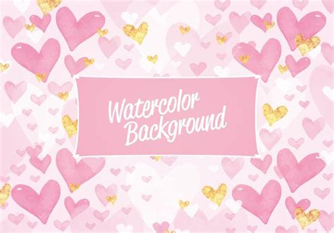 watercolor pattern vector vector valentine s day watercolor pattern download free