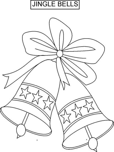 Christmas Jingle Bells Coloring Page Sketch Coloring Page Coloring Pages Jingle Bells
